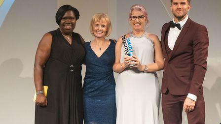 Whittington staff with their award. Picture: Star Media Group