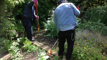 Culpeper Community Garden has been given £100,000 by the City of London Corporation.