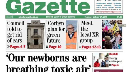 The Gazette has gone green this week for a climate emergency special.