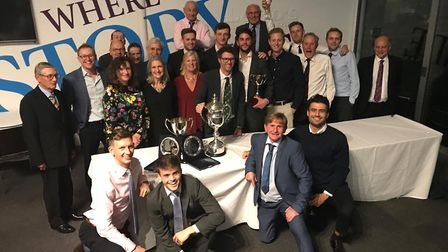 North Middlesex CC members celebrate