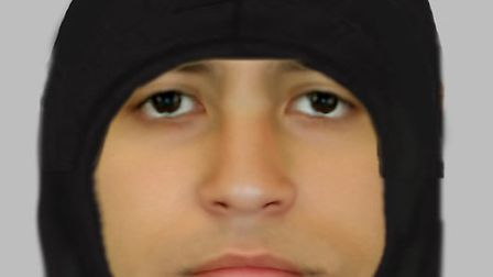 E-fit of man sought by police following attempted rate in Market Road. Pictrue: Met Police
