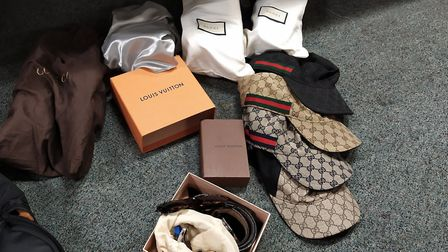 Suspected stolen good/ proceeds of crime confiscated by Highbury West Police. Picture: Highbury West