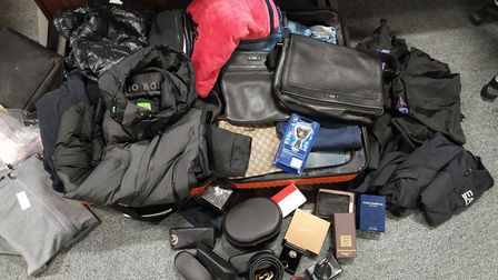 Suspected proceeds of crime confiscated by Highbury West Police. Picture: Highbury West Police
