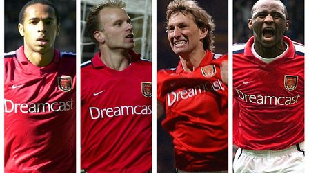 Lee Dixon played with Arsenal greats Thierry Henry, Dennis Bergkamp, Tony Adams and Patrick Vieira,