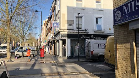 The junction of Fonthill Road and Goodwin Street. Picture: Sam Gelder