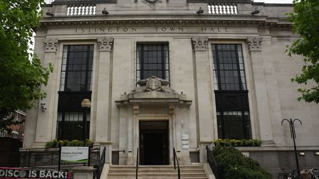 Islington Town Hall. Picture: Ken Mears