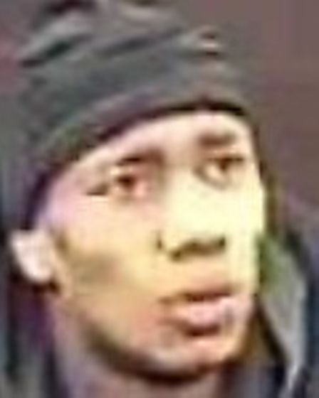 Police want to trace this man in connection with a robbery in Upminster on November 7. Picture: B
