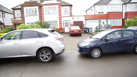 Homes near Byron Court Primary School, in one of Brent's most affluent postcode areas. Picture: Adam