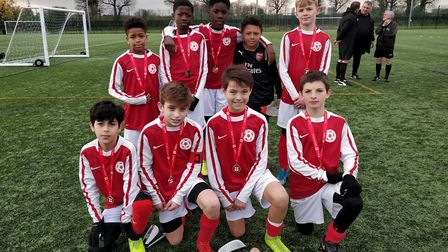 Islington's primary school squad were runners-up in the Inner London final of the English Schools FA