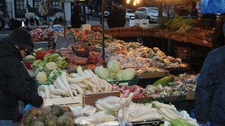 One third of low income families are missing out on vouchers for fresh food. Picture: Mike Brooke