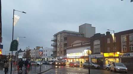 Martin Redston, community activist and business man, has paid for Neasden to have Christmas lights o