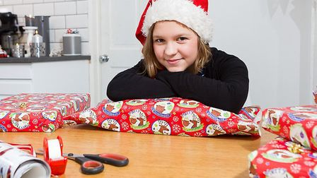 Astrid Aurell who set up 'Kits for Kids', an annual project that raises money to buyChristmas prese