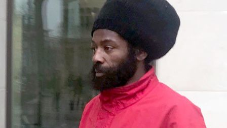 Alvin Thompson pictured outside Westminster Magistrates' Court earlier this year. Picture: Ryan Hoop