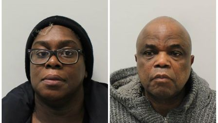Jennifer Hodges and Dido Massivi from Dollis Hill. Picture: Met Police