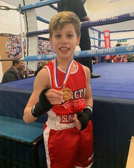 Islington Boxing Club members were in action on a joint home show with the Fight for Peace club (pic