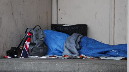 The Gazette has often highlighted the plight of the homeless. Picture: PA IMAGES