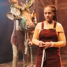 Justin Brett and Ayesha Casely in The Snow Queen at Park Theatre picture Manuel Harlan