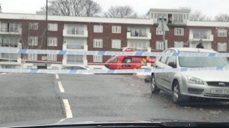 There was a fatal collision in Dollis Hill Lane. Picture: Daniel Kulakov