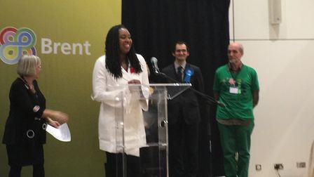 Dawn Butler retained her seat in Brent Central. Picture: Nathalie Raffray