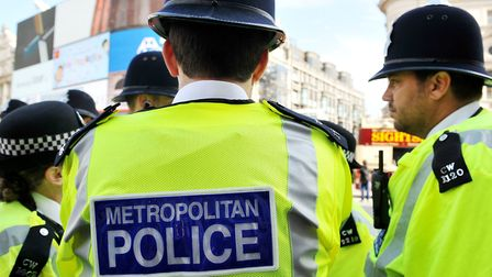 Met Police stock image Picture: PA