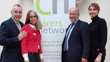 Roy Lilley, Sally Miller, Steven Bramley, Nadia Taylor. Picture: Carers Network