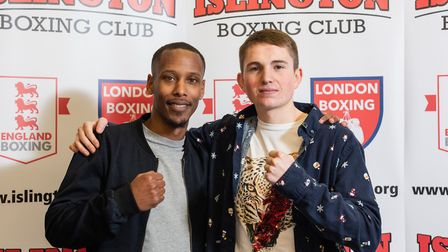 Connor Daly has taken over from Scott Smart as club captain at Islington Boxing Club (pic Emma Tarra