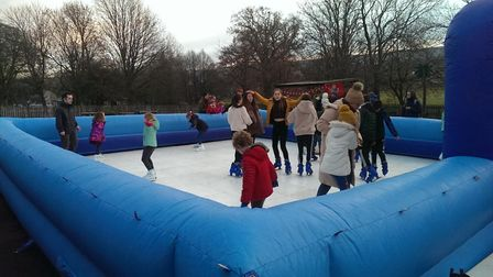 An icerink will be centre piece of the Winter Wonderland festival in Wembley