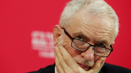 Jeremy Corbyn will stand down as Labour leader. Picture: JONATHAN BRADY/PA IMAGES