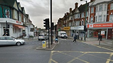 Wembley High Road: officially the road worst-hit by shoplifters in Brent. Picture: Google Streetview