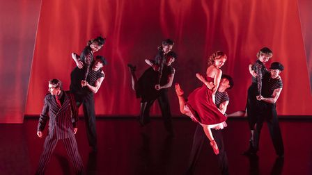 Matthew Bourne's The Red Shoes at Sadler's Wells. Picture: Johan Persson.