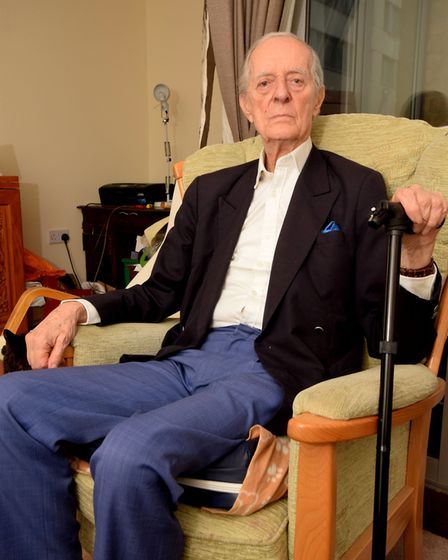 John Savile, 92, who was knocked down in a hit and run last year. Picture: Polly Hancock