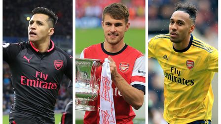 Who did Islington Gazette Arsenal reporter Dan Mountney pick in his Arsenal team of the decade? Pict