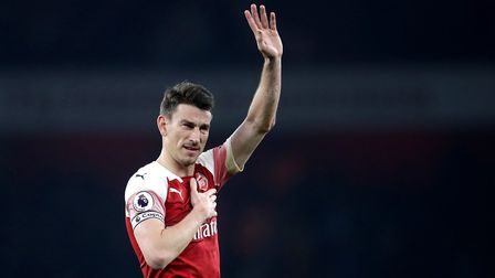 File photo dated 27-02-2019 of Arsenal's Laurent Koscielny. Picture: Adam Davy/PA