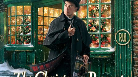 Album cover for Robbie Williams: The Christmas Present. Picture: Supplied.