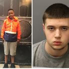 Ayoub Majdouline (right) was found guilty of killing Jaden Moodie. Picture: Met Police