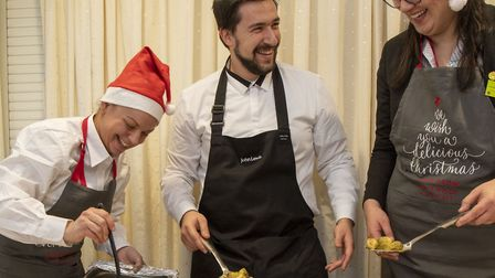 This Christmas over 1,000 people are being invited to Festive Feasts organised by John Lewis & Part