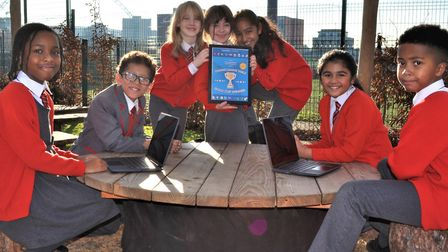 Ark Academy Coding Gold Cup winners