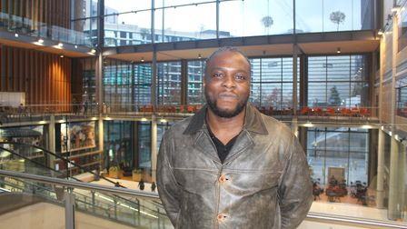 Fedell Jackson is turning his life around after a spell in prison. Picture: Brent Council