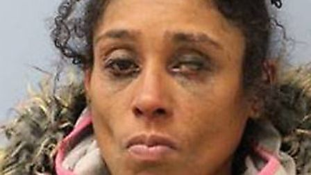 Julia Best banned from Harlesden for five years. Picture: Harlesden police