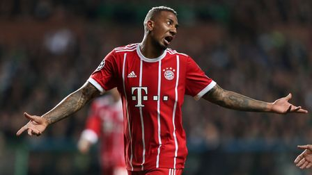 Bayern Munich's Jerome Boateng during the UEFA Champions League, Group B match at Celtic Park, Glasg