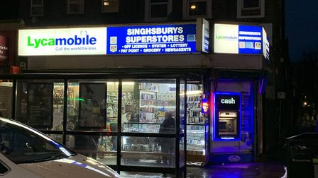 Singhsburys Superstores in Seven Sisters Road. Picture: André Langlois