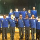 Chalkhill Primary Boys' Choir toured schools to inspire boys to sing. Picture: Martin Francis
