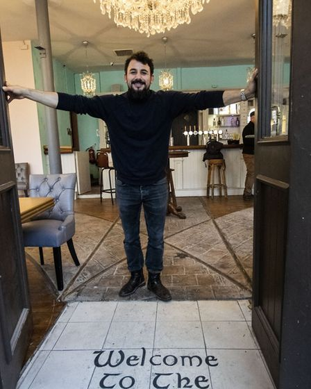 The Archway Tavern. Manager Sokol Toska reveals the threshold to a former incarnation, when the pub