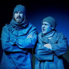 Richard Ede and Elliott Ross in Shackleton and His Stowaway. Picture: Elena Molina.
