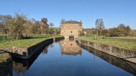 The new gauge, built in 1856, is where the River Lea joins the New River. Picture: Thames Water