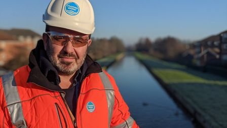 Frankie Somers, New River performance manager. Picture: Thames Water