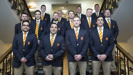 The MCC squad ahead of their tour of Argentina (pic Clare Skinner/MCC)