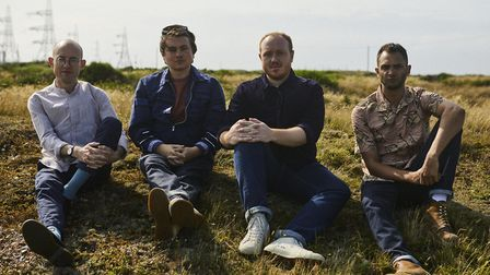 Jack Steadman, Ed Nash, Jamie MacColl and Suren de Saram of Bombay Bicycle Club. Picture: Supplied.