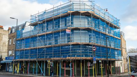 The New Rose, Essex Road, is undergoing a renovation. Picture: Matt Grayson