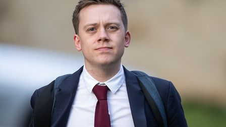 Columnist Owen Jones outside Snaresbrook Crown Court where he is giving evidence in the trial of Jam